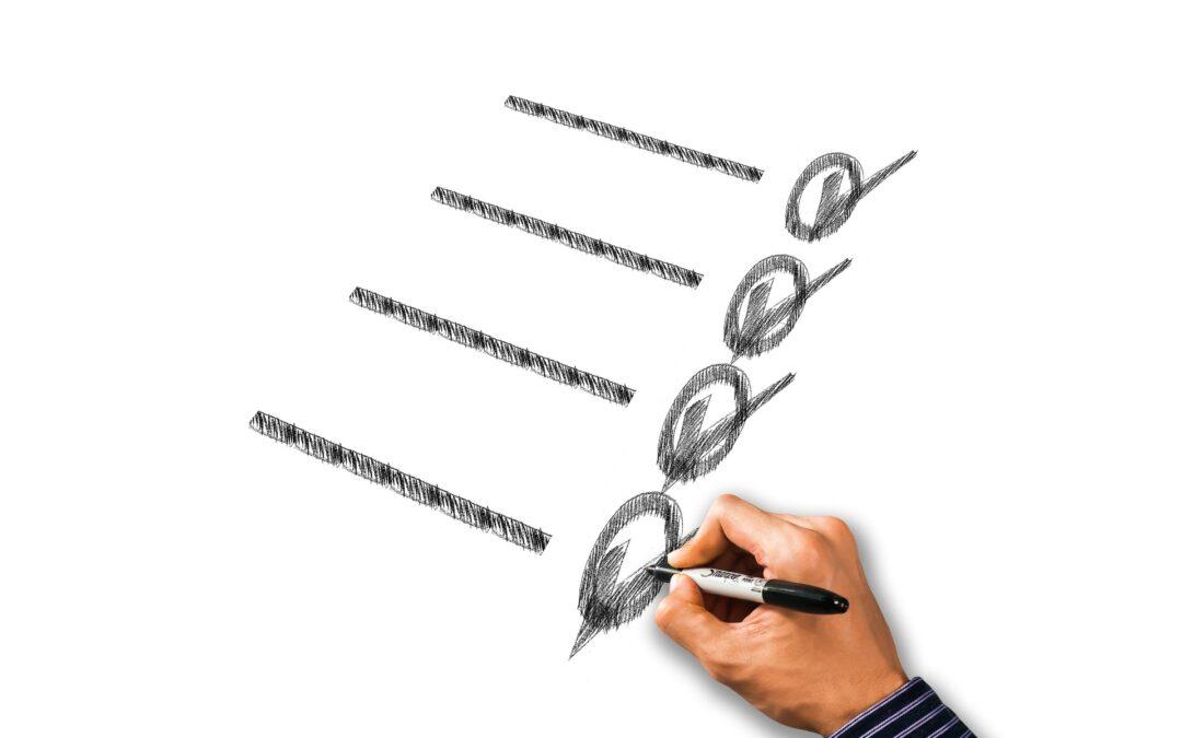 Occupational Health & Safety basics checklists