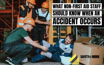 What non-first aid staff should know when an accident occurs